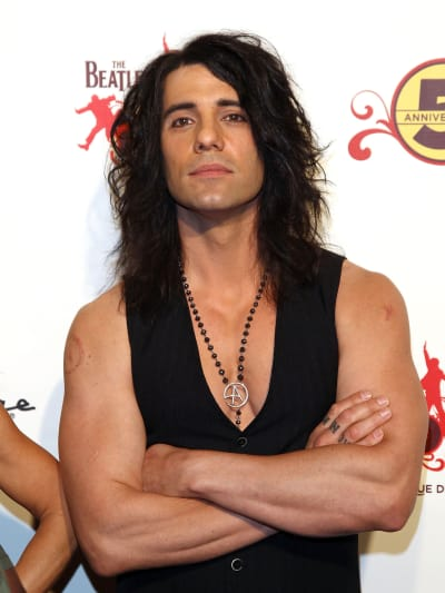 Criss Angel Shirtless