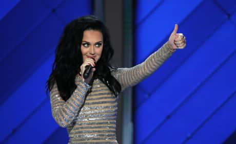 Katy Perry Democratic National Convention Photo