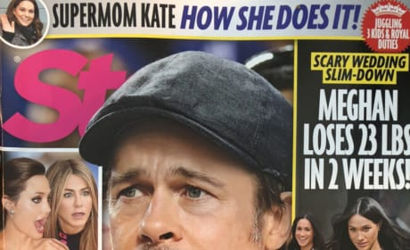 Brad Pitt Tabloid Cover Story