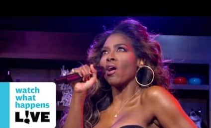 """Kenya Moore """"Performs"""" Debut Single"""