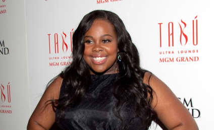 Amber Riley Collapses on Red Carpet, Is Okay
