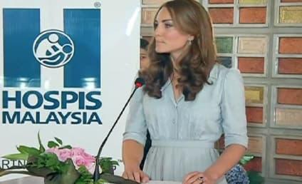 Kate Middleton Speech in Malaysia Praises Charity