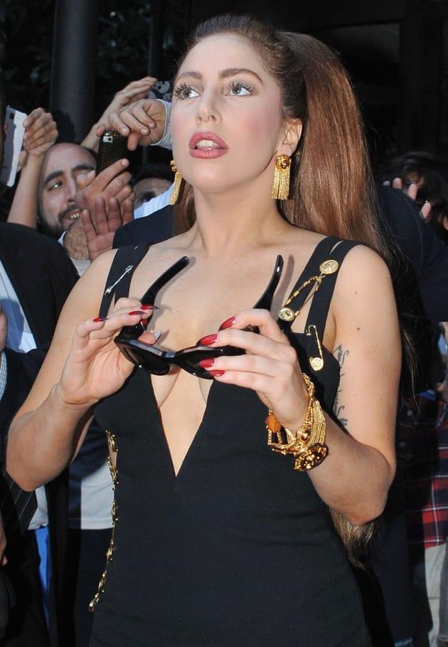Lady Gaga in Milan