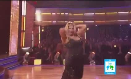 Kirstie Alley Kiss Stuns Tom Bergeron, Delights DWTS Audience