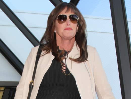 Caitlyn Jenner Arrives at LAX