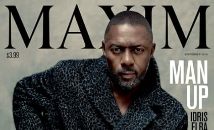 Idris Elba Becomes First-Ever Man to Cover Maxim!