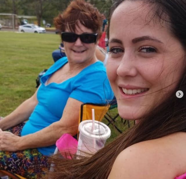 Jenelle and babs chillin