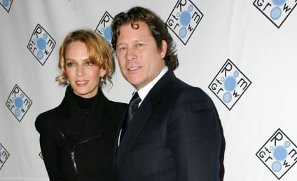 Uma Thurman and Arpad Busson: Engaged!