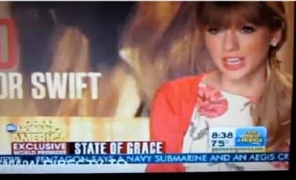 """Taylor Swift Teases """"State of Grace"""" on GMA"""