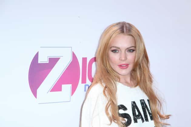 Lindsay Lohan Red Carpet Image