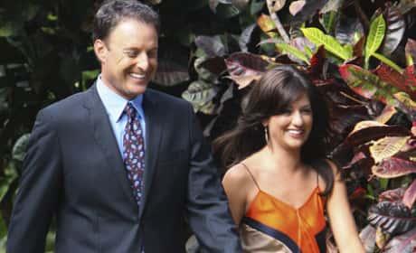 Jillian Harris and Chris Harrison