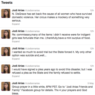 J Arias Tweets