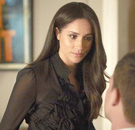 Meghan Markle in Character on Suits