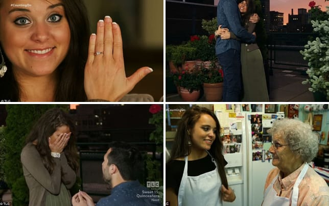 Jinger duggar engagement ring photo