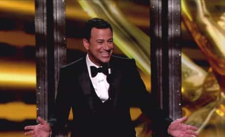 Jimmy Kimmel Emmy Pic