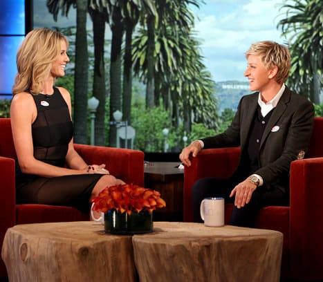 Heidi Klum on Ellen