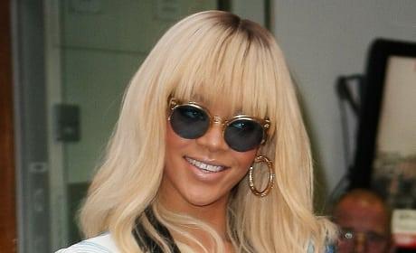 Rihanna in England