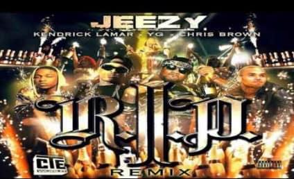 """Chris Brown Slams Drake in """"R.I.P."""" Remix"""