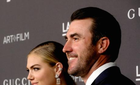 Kate Upton and Justin Verlander Photograph