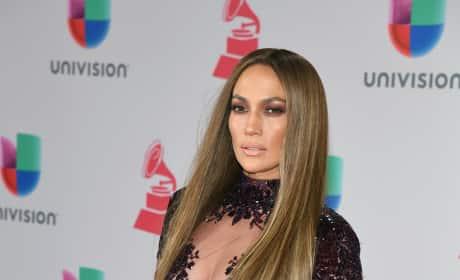 Jennifer Lopez at Latin Grammys