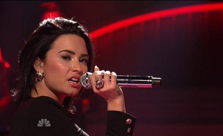 Demi Lovato on SNL