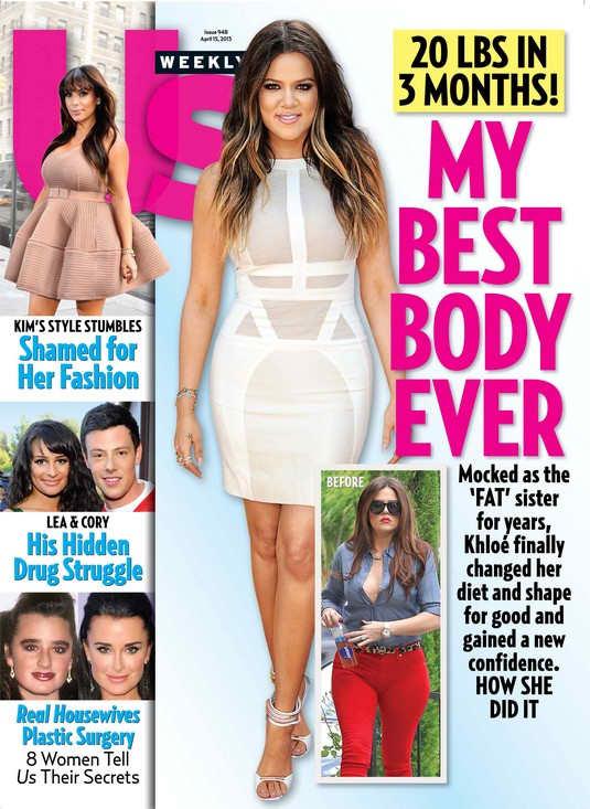 Khloe Kardashian Us Weekly Photo