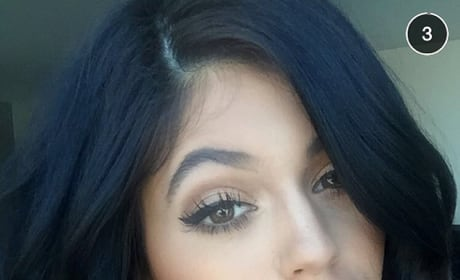 Kylie Jenner: Lips, Cleavage