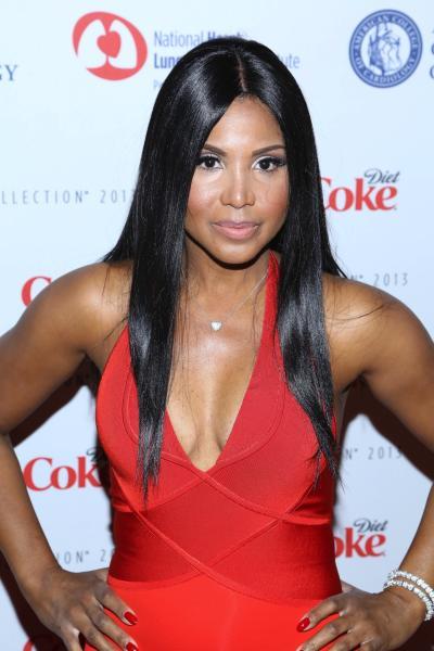 Toni Braxton in Red