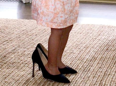 Blue Ivy Wears Mom's Heels