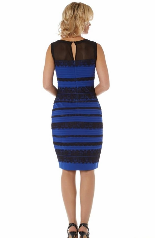 White and Gold Dress: Confirmed as Blue and Black! - The ...