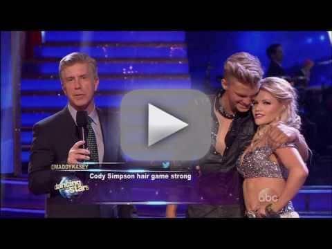 Cody Simpson & Witney Carson - DWTS Week 1