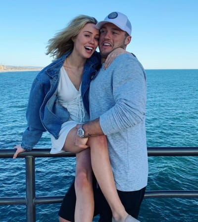 colton underwood and cassie engaged