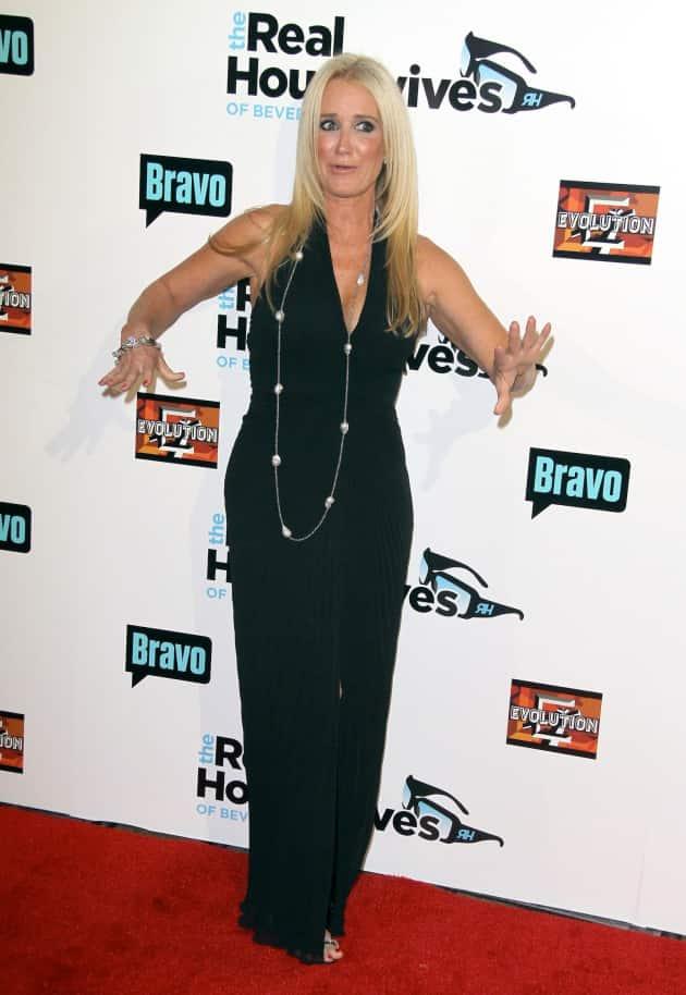 Kim Richards on the Red Carpet