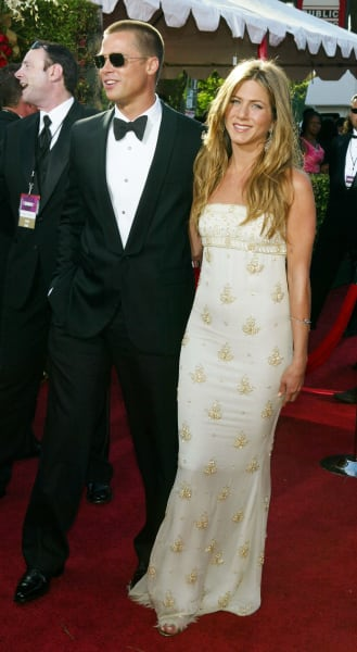 Jennifer Aniston and Brad Pitt in Happier Times Photo