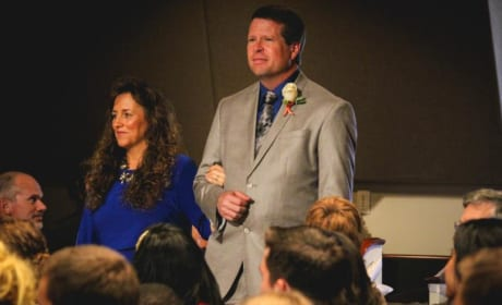 Michelle & Jim Bob at Jessa's Wedding