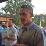 President Obama in Iowa