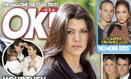 Kourtney Kardashian: Pregnant! And Betrayed! Twice!