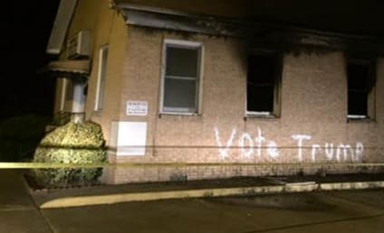Trump Supporters Allegedly Burn Black Church in Mississippi