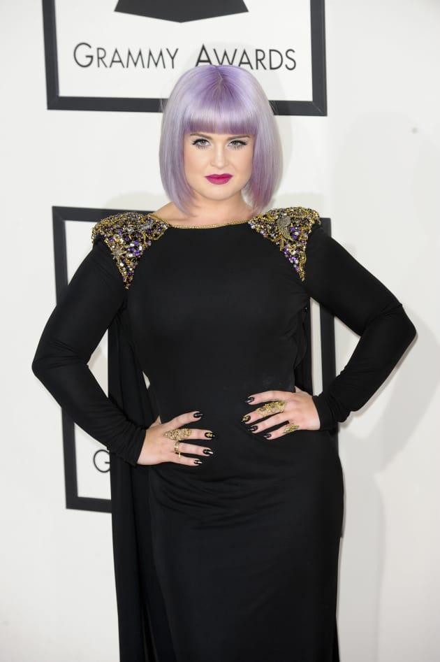 Kelly Osbourne at the 2014 Grammys