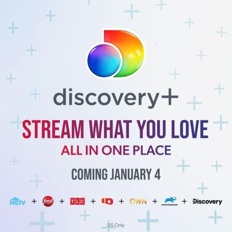 Discovery Plus promo