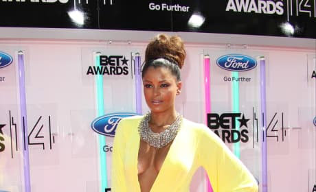 Claudia Jordan BET Awards Photo