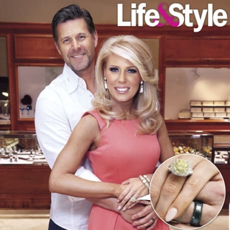 Gretchen Rossi Engagement Ring Pic