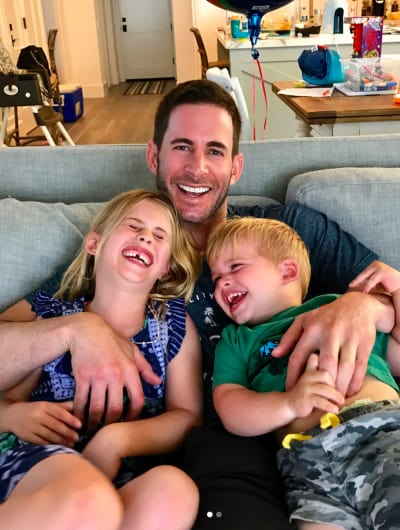 Tarek El Moussa with Children