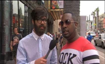 Drake Wears Disguise, Interviews Pedestrians About Drake on Jimmy Kimmel Live
