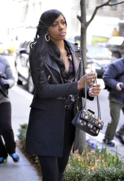 Porsha Stewart on the Street