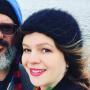 Amber Tamblyn with David Cross