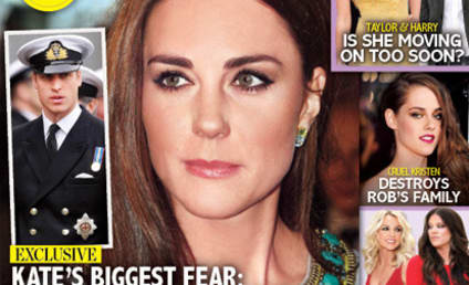 Kate Middleton: Pregnant and Alone?!