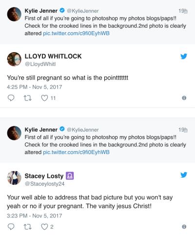 Kylie Jennercriticism