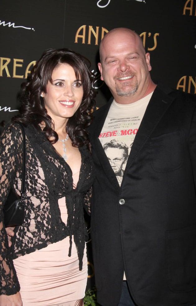Pawn Shop Austin >> Rick Harrison and Deanna Burditt: Married! - The Hollywood ...
