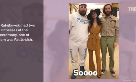 Sebastian Bear-McClard and Emily Ratajkowski: Married!